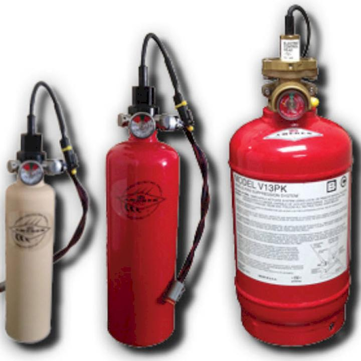 Dry Chemical Fire Suppression