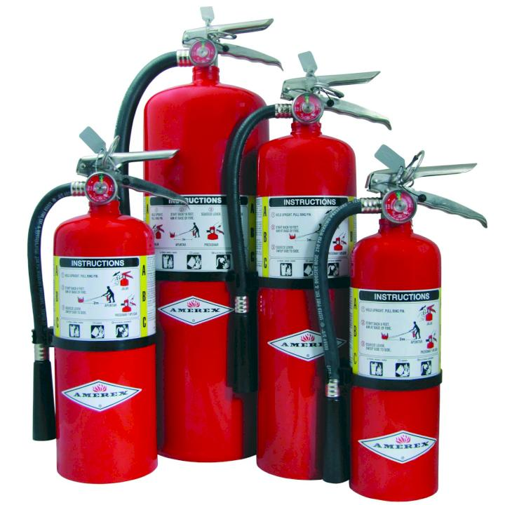 Hand Portable Fire Extinguishers